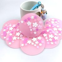Starbucks Pink Coaster Thermal Insulation Anti-slip Mat Silicone Mat Water Cup Coffee Mats Various Styles for Choice 1908 V2
