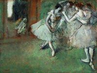 Dansçılar grubu büyük yağlıboya tuval ev dekor el tarlaları / hd baskı duvar sanatı resimleri özelleştirme kabul edilebilir 21052801