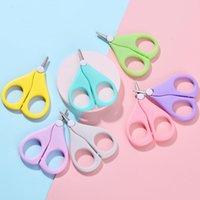 Bambini per unghie forbici brevi per bambini chiodi per la cura delle cerai per la cura della sicurezza della sicurezza dell'acciaio inossidabile di sicurezza YL517