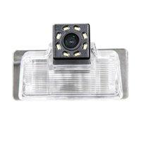 Vue arrière Vue arrière Caméras Senseurs de stationnement HD 720P Caméra Retour de sauvegarde de sauvegarde pour Blue Bird Sylphy G11 / Teana Tiida Pathfinder R51
