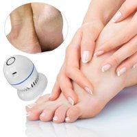 File del piedino elettronico ricaricabile Pedicure Cracked Kit di rimozione della pelle morta in cracking Massaggio forniture da massaggio 175 * 155 * 75mm