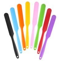 Silicone Cake Spatula Small Cream Butter Spatula Mixing Butter Scraper Spoon Brush Silicone Baking Cook Tool Kitchen Tools W0252