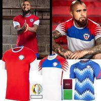 2021 Chiles Soccer Jerseys Copa America Polgar 13 A.Vidal 8 Medel 17 Mora 11 Vegas 16 20/21 الصفحة الرئيسية Training Training قمصان كرة القدم جيرسي