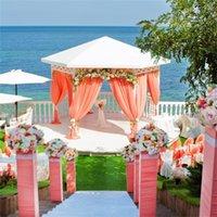 1.5 M düğün arka plan duvar sahne dekorasyon ipek genişlik saten kumaş katı renk bez performans giyim 217 v2