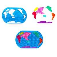 DHL itme Kabarcık Dünya Haritası Fidget Oyuncaklar Squishy Ped Dekompresyon Oyuncak Çocuk Yetişkinler Için Antistres Rodil
