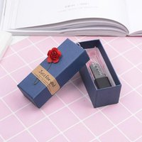 Gift Box Rectangle Jewelry Packaging Birthday Lipstick Drawer Small Gifts Provide Wholesale Wrap