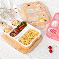 Öğle Yemeği Kutusu Yüksek Kapasiteli Sofra Konteyner Seyahat Yürüyüş Kamp Ofis Okulu Sızdırmaz Taşınabilir Bento 1000ml Yemek Takımları