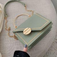 For Luxury Bag Fashion Pu Q757 Designer Chain Bags Leather Women Small Ladies Handbag Crossbody Green Flap Evening Shoulder M Moixs