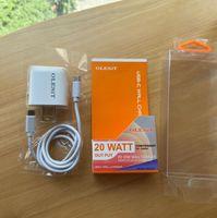 Olesit USB C 벽 자동차 충전기 듀얼 포트 PD 20W QC3.0 유형 -C 세트 케이블 키트 용 고속 충전 어댑터