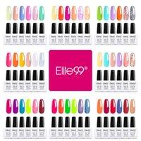 Nail Art Kits Elite99 6Pcs lot Shiny Gel Polish Set Soak Off UV LED Colors Manicure 10ML Macaron Polishes Lacquer Kit