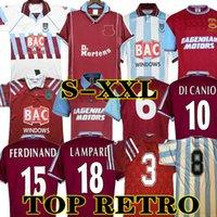 Di canio 91 92 95 97 Hundertteln West Ham United Retro Fussball Fussball Fussball Lampen Dicks 1999 2000 Classic 100th Jubiläum 99 00 Vintage Football Hemden