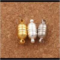 Crochets Passants Clasps magnétiques magnétiques Siergold plaqués pour collier bijoux 3zmo3 qnxhw