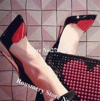 Sandales Femelle Stiletto Deisgn-chaussure, facture mince, coeur rouge, aiguillette, talons hauts, blanc, noir, sexy, huit pouces, dix centimètres, six BTAD