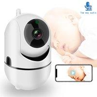 WiFi Bebek Monitörü Kamera ile 1080 P HD Video Uyku Nanny Cam İki Yönlü Ses Gece Görüş Ev Güvenlik Babyphone Kameralar
