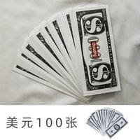 Simulated counterfeit props toys fake US dollar banknote bar atmosphere stage party