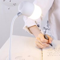 Table Lamps Wireless Charger Smart Bluetooth Speaker LED Lantern Night Light For Samsung S8 S9 S10 8 7 XR 11 Portable TOOLS
