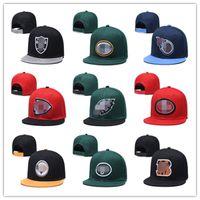 2021 Uomini da donna Basket Snapback Snapback Baseball Tutti i team Cappelli da calcio Hip Hop Sports Hat Mish Order