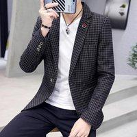 Men's Suits & Blazers Men Suit Slim Korean Version Of The Leisure Nan Tao Zhuang Business Wedding Dress Coat Students Trend Small