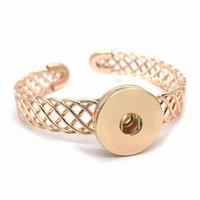 Браслеты очарования 3 полые 250 моды натягивающиеся 18 мм сменные нажатия браслет сменные украшения для женщин мужчин подарок