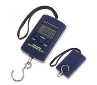 new 40Kg Digital Scales LCD Display Hanging Hook Luggage Fishing Weight Scale Household Portable Airport Electronic