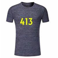 Tailandesa Qualidade Top413 Personalizado Jerseys de Futebol ou Jersey de Futebol Ordens de desgaste casuais, nota cor e estilo, contato com o serviço ao cliente para personalizar Nome Número Mangas curtas