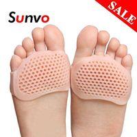 النعال منصات الجسم الأمامية بالجملة للنساء أحذية عالية الكعب القدم نفطة الرعاية أصابع إدراج هلام الألم الإغاثة دروبشيبينغ