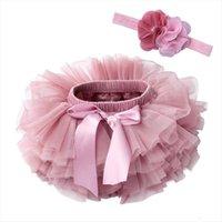 Infantil recién nacido mullido pettiskirts mujeres faldas tutu bebé niñas princesa fiesta ropa tulleslers pañales trajes
