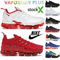 2021 Max TN plus vapor zapatillas tns zapatillas de deporte para hombre al aire libre Triple Negro Blanco Oliva Hombres Mujeres Zapatillas deportivas Tamaño 13 Eur 36-47