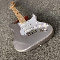 متجر مخصص، الغيتار الكهربائي، وضمان الجودة، والجسم الفضي لديه ارتفع فلويد