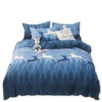 مجموعة مفروشات المنزل غطاء لحاف السرير ورقة السرير وسادة لحاف ملكة شقة مزدوجة الحجم الكامل 220x240 150x200 سنتيمتر 3/4 قطع مجموعات