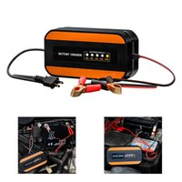 Portble Car Motorcycle Battery Charger Intelligent Power Charging 100V to 240V AC To 12V DC 2A
