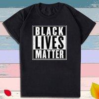 Schwarzer Leben Materie T-Shirt für Männer Frauen Casual Crew Neck Tops T-Sommer Schwarzer Leben Materie T-Shirt_Js