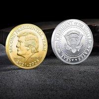 Trump 2024 Coin Creft commemorativo La vendetta Tour Salva America di nuovo Metal Badge Gold Silver Collection Art Commemorative Coin