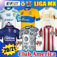 20 21 Club America Soccer Jerseys 2021 2122 الصفحة الرئيسية Unam Third Leon Uanl Tigres Chivas Guadalajara 115 سنة كيت كاميساس دي فيوتول لكرة القدم قمصان