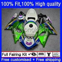 Spritzgusskörper für Suzuki GSXR 1000cc 1000 CC K2 00 01 02 Körper 24No.117 GSXR1000 GSX-R1000 Hellgrün 2000 2001 2002 GSXR-1000 2000-2002 100% Fit OEM-Verkleidung
