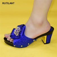 Dress Shoes Fashion Italy High Heels Women Wedding Nigerian Party Pumps Selling Italian Style Slingbacks African Slippers