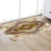 Carpets Gold Marble Doormat Boho Rug Carpet Area Indoor Outdoor Rugs Non Slip Front Door Mats For Living Room Bathroom