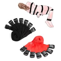 부부를위한 BDSM 기어 섹스 토이 성인 게임 구속 스트랩 페티쉬 유혹 수갑 발목 커프스 제품