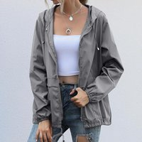Women's Jackets Y2K Aesthetic Hoodies Women Vintage Zipper Sweatshirt Autumn Winter Jacket Clothes Pockets Long Sleeve Hooded Pullovers