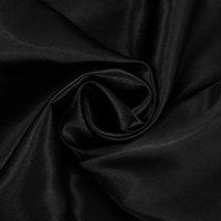 Hiloc черный длинный рукав домашний костюм для женщин спящая одежда сатин Pajamas набор 2021 сплошной базовый двух частей набор верхних и брюк пружины PJS