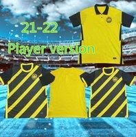 Versão do jogador Customizable Malaysia Jersey 2020 2021 2022 New National Team Homens Football Shirts Home Amarelo Away Black Rasid Talaaha Bakhtiar