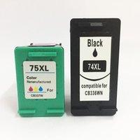 VILAXH 74XL 75 Compatible Compatible Cartouche de cartouche d'encre pour 74 Posmart C4200 C4280 C4345 C4380 C4385 C4480 C4580 Cartouches d'imprimante