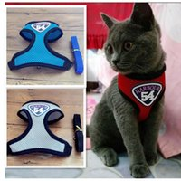 Dog Collars & Leashes Cat Leash Rope Sliding Pet Harness Sling Set Chain Chest