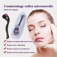 Home Use Microneedle Roller Skin Massager 540 Derma Rollers Micro Needle For Hair Regrowth Face Care Anti-Aging Wrinkle Removal Dermal