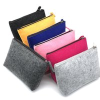 Storage Bags Felt Travel Gadget Organizer Bag Electronics Accessories Portable Digital Cable Carrying Case Pouches For USB Power