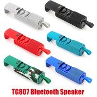 Nuevo TG807 Bluetooth Altavoces inalámbricos Subwoofers Portable Altavoz Manos libres de llamadas Perfil de llamada Estéreo Bajo 1500mAh Soporte de batería TF Tarjeta USB Aux Line