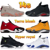 2021 homens 14 14s sapatos de basquete Terra blush Antracite Preto Indiglo Hyper Gym Royal Ginásio Vermelho Toro Toe Mulheres Sneakers Mens Trainers US 5.5-13