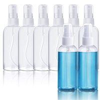 60 ml 2oz MIST MISM FINE MINI MINI Botellas de aerosol con bombas de atomizador para aceites esenciales Perfumes de viaje Maquillaje portátil PP / Botella de plástico PET