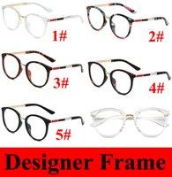 Mulheres Flor Leitura Óculos Quadro Redondo Oval Oval Eyeglasses Vermelho Visão Rápida Eywear Estilos De Designer 3388 5 Cores 10pcs