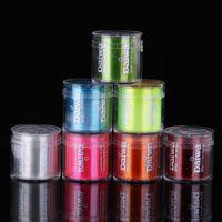 Super starke Angelschnur 500m Japan Monofilament Nylon 2-35LB 7 Farben Geflecht